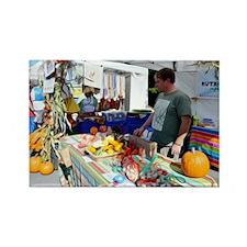 Garlic Festival Vendors 2 Rectangle Magnet
