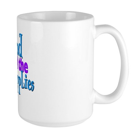 My Husband Lets Me... Large Mug