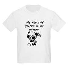 My Favorite Golfer Is My Mommy T-Shirt