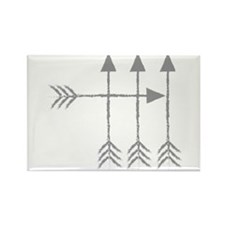4 Four arrows Magnets