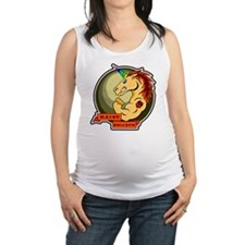 Macho Unicorn Maternity Tank Top
