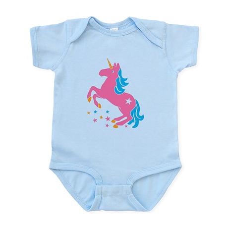 Pretty pink unicorn Body Suit