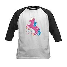Pretty pink unicorn Baseball Jersey
