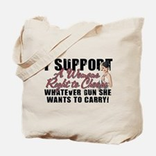 Womans Right to Choose Tote Bag
