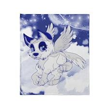 A Dreamy Wolf Throw Blanket