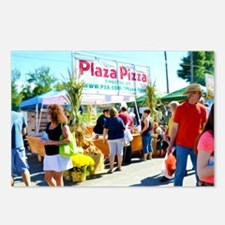 Plaza Pizza  Postcards (Package of 8)
