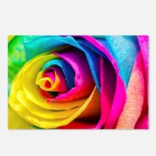 Rainbow Rose Postcards (Package of 8)