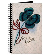 Four Leave Clover for Good Luck Journal