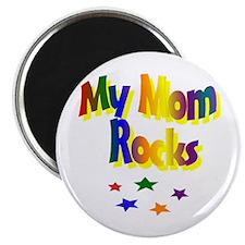 "My Mom Rocks 2.25"" Magnet (10 pack)"