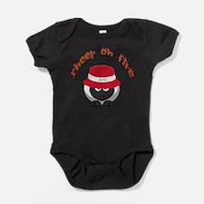 Sheep On Fire Baby Bodysuit