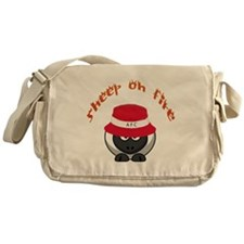 Sheep On Fire Messenger Bag
