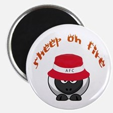 Sheep On Fire Magnet