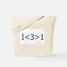 I love more than one Tote Bag