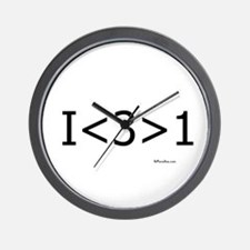 I love more than one Wall Clock