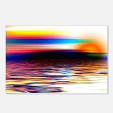 Sunset Art Postcards (Package of 8)