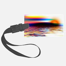 Sunset Art Luggage Tag