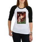 Seated Angel & Boxer Jr. Raglan