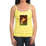 Seated Angel & Boxer Jr. Spaghetti Tank