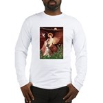 Seated Angel & Boxer Long Sleeve T-Shirt