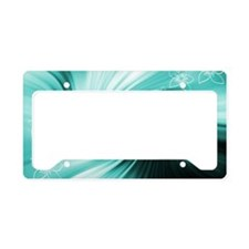 Art and Design License Plate Holder