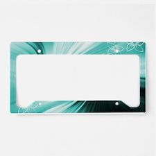 Art and Design License Plate Holder