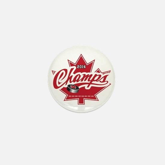 Canada 2014 Mini Button