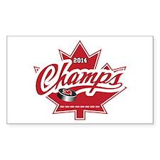 Canada 2014 Decal