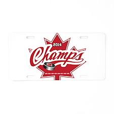 Canada 2014 Aluminum License Plate