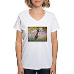 Garden & Boxer Women's V-Neck T-Shirt