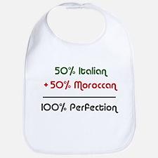 Half Italian, Half Moroccan Bib