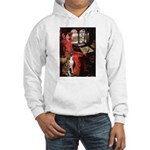 Lady & Boxer Hooded Sweatshirt