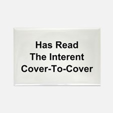 Has Read The Internet Cover-To-Cover Magnets