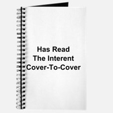 Has Read The Internet Cover-To-Cover Journal