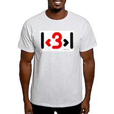 I love more than one (cute wi T-Shirt
