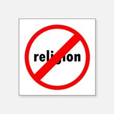 No religion Sticker