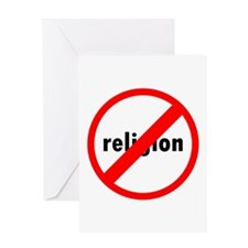 No religion Greeting Cards
