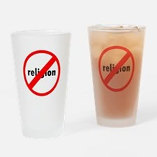 No religion Drinking Glass