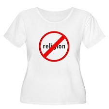 No religion Plus Size T-Shirt