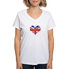 British Flag Heart Shirt