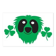 Green Irish monster with  Postcards (Package of 8)