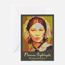 The Lady with the Lamp Greeting Cards (Package of