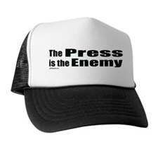 The Press is the Enemy Trucker Hat