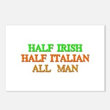 half Irish, half Italian Postcards (Package of 8)
