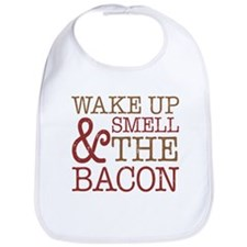 Wake Up Smell Bacon Bib