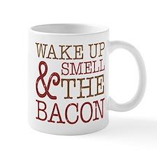 Wake Up Smell Bacon Mug
