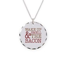 Wake Up Smell Bacon Necklace