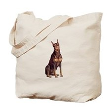 Red Doberman #1 Tote Bag
