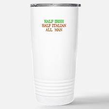 half Irish, half Italian Travel Mug