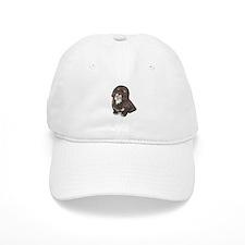 Havanese (brn-blk) Baseball Cap