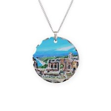 The Greek Theater  Ruins Necklace